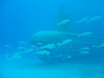 潜水艦だ!